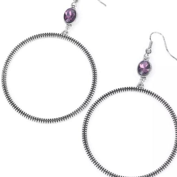 Work That Circuit Purple Earrings ~ NEW 2021🔥
